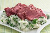 Corned Beef and Colcannon