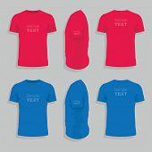 Men s t-shirt design template