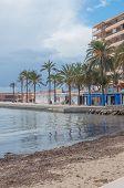 Cala Estancia empty beach