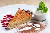 Tarta De Santiago. Spanish Almond Cake.