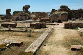 Ancient Heraion on the Greek island of Samos