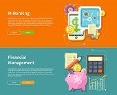 image of electronic banking  - Internet online banking - JPG