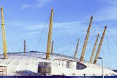 foto of canopy roof  - Modern dome structure in East London Greenwich Peninsula - JPG