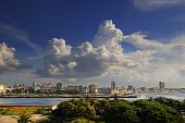 Havana Cityscape From El Morro Fortress