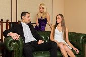 picture of threesome  - The relationship between a man and a woman  - JPG