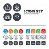 pic of spam  - Mail envelope icons - JPG