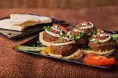 stock photo of meatball  - Arab food - JPG