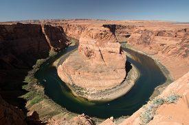 foto of horseshoe  - Horseshoe Bend is a horseshoe - JPG