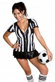 Árbitro de futebol sexy