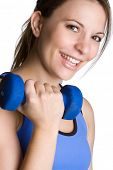 Happy Smiling Fitness Woman