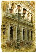 Venice - great italian landmarks poster