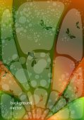 image of stained glass  - green stained - JPG