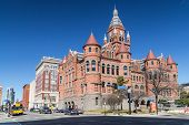 Old Red Museum, Formerly Dallas County Courthouse In Dallas,  Texas poster