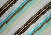 Aqua Brown Striped