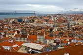 Birdview Of Lisbon, Portugal