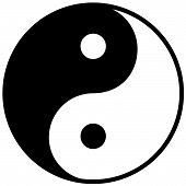 Ying Yang Symbol Of Harmony And Balance