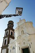 image of salvatore  - Atrani church of Santissimo Salvatore of Birecto Bireto - JPG
