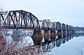 Ponte ferroviária de Fredericton