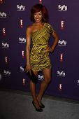 SAN DIEGO - JUL 23: Alicia Fox at the SyFy/E! Comic-Con Party at Hotel Solamar in San Diego, Califor