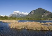 Vermilion Lakes with Mount Rundle