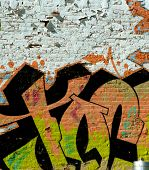 Abstract Graffiti Tag