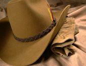 Cowboy Hat & Gloves 1