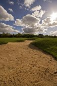 Golf Course Sandbunker
