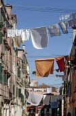 Laundry In Venice, Italy.