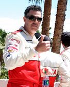 Los Angeles Apr 14: Adam Carolla auf 2012 Toyota Pro/Celeb LD Long Beach grand Prix Rennen
