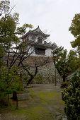 Tsukimi Yagura Tower Of Okayama Castle, Japan