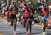 Sharon Cherop wins Boston Marathon 2012