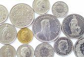 Постер, плакат: Швейцарские монеты