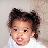 Toddler Girl Smiling