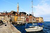 Ciudad medieval de Rovinj y Saint Eufemia Catedral, Croacia