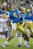 PASADENA, CA. - SEPT 11: UCLA Bruins QB Kevin Prince #4 in action during the UCLA vs Stanford game o
