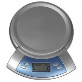 Digital Kitchen Scale Isolated On White