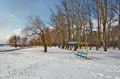 Winter Beach.