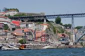 Porto And Dom Luis Bridge.