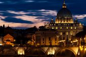 A panorama of Rome