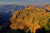 View Of The Sinking Ship Rock Formation On The South Rim Of The Grand Canyon. Located North Of The B poster