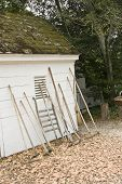 Colonial Tools Against Shed
