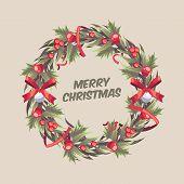 Christmas Wreath 10 poster
