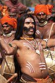 Tribal Dancer From Assam