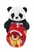 Soft Toy Panda And Lion Dance Figurine poster