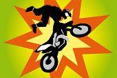 Motorcross Biker