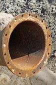 Rusty Blow Sand Pipeline