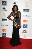 LOS ANGELES - FEB 9:  Estelle arrives at the Clive Davis 2013 Pre-GRAMMY Gala at the Beverly Hilton