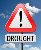 foto of water shortage  - drought caused by water shortage leads to crop failure and food scarecy and desertation - JPG