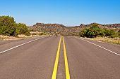 Deserted highway