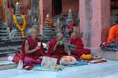 Kagyu Monlam In Bodgaya,india